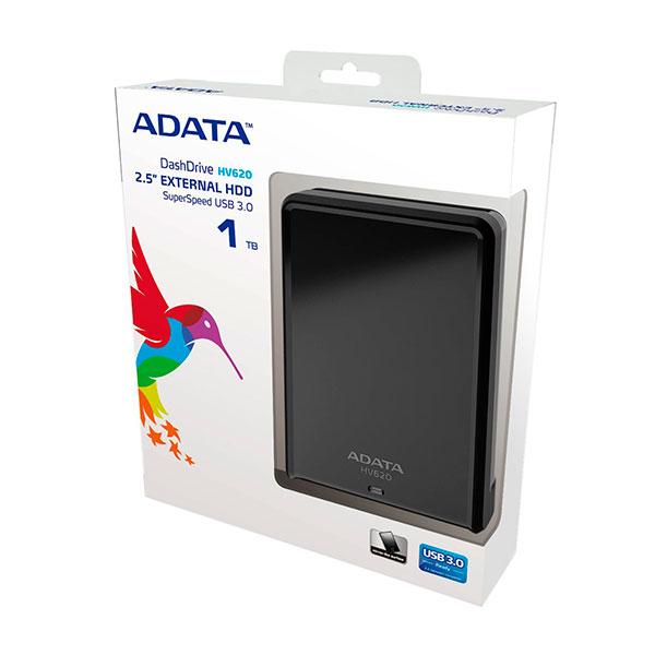 ADATA DasHDrive HV620 1TB 2.5″ – Disco Duro USB
