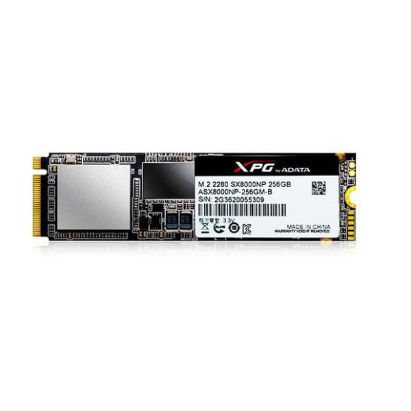 ADATA SX8000 Gaming 256GB M.2 2280 – Disco Duro SSD