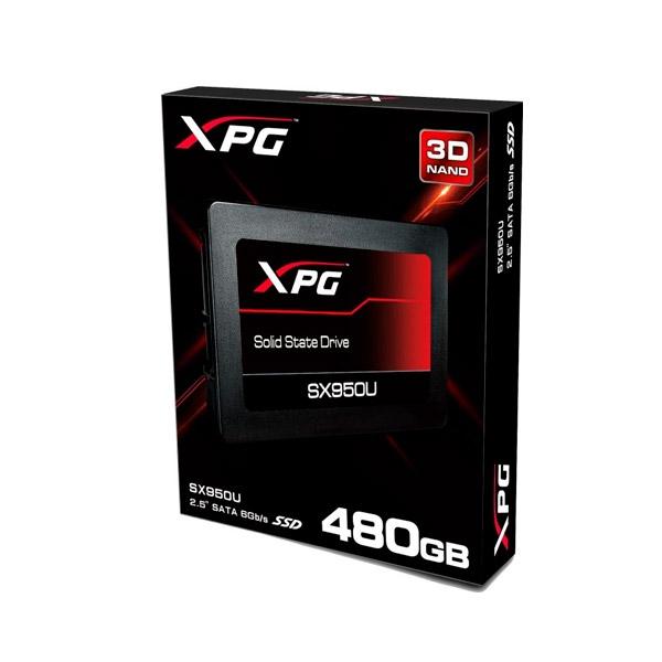 DISCO DURO 2.5  SSD 480GB SATA3 ADATA XPG SX950U  NEGRO