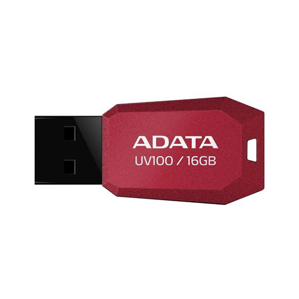 ADATA DasHDrive UV100 16GB rojo – Pendrive