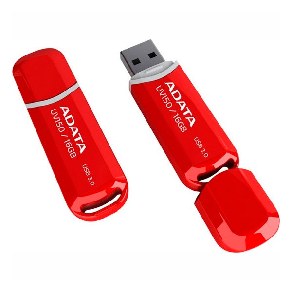 ADATA DasHDrive UV150 16GB rojo – Pendrive