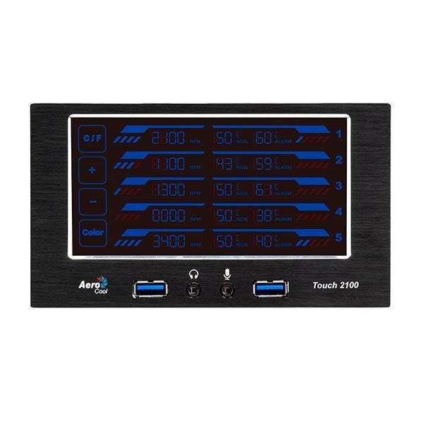 AeroCool Touch 2100 – Control FAN