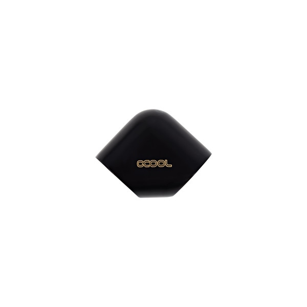 Alphacool codo 90º negro G1/4 – Adaptador