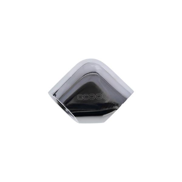 Alphacool angulo 90º G 1/4 cromado – Codo