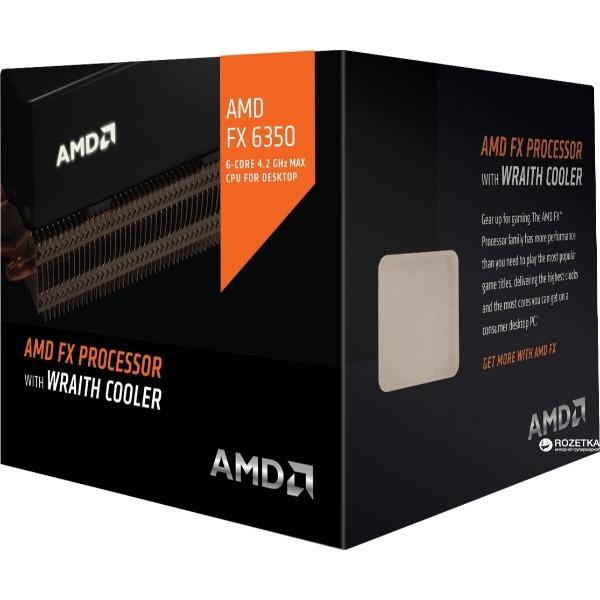 AMD FX-6350 6-Core 3.9GHz AM3+ w/Wraith Cooler - Procesador