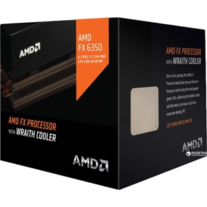 AMD FX-6350 6-Core 3.9GHz AM3+ w/Wraith Cooler - Procesador