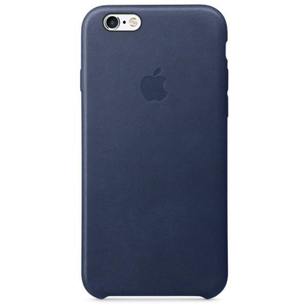 Apple Iphone 6S plus cuero azul noche – Funda