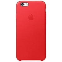 Apple Iphone 6S cuero rojo – Funda
