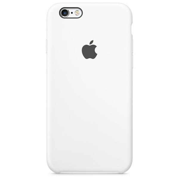 Apple Iphone 6S silicona blanco – Funda