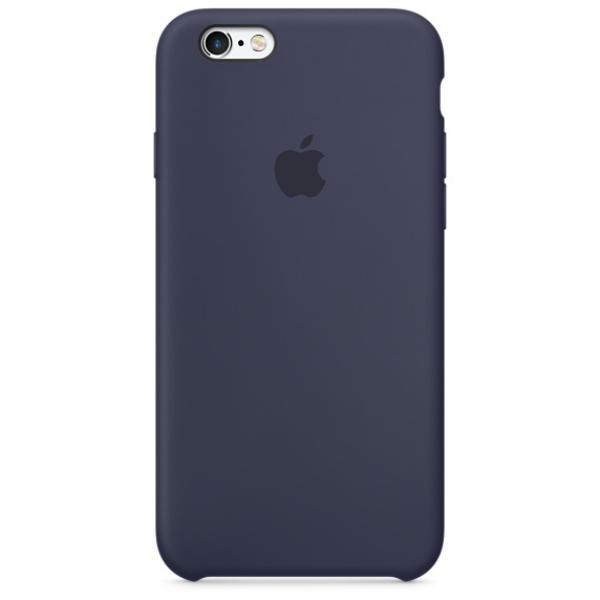 Apple Iphone 6S silicona azul medianoche noche – Funda