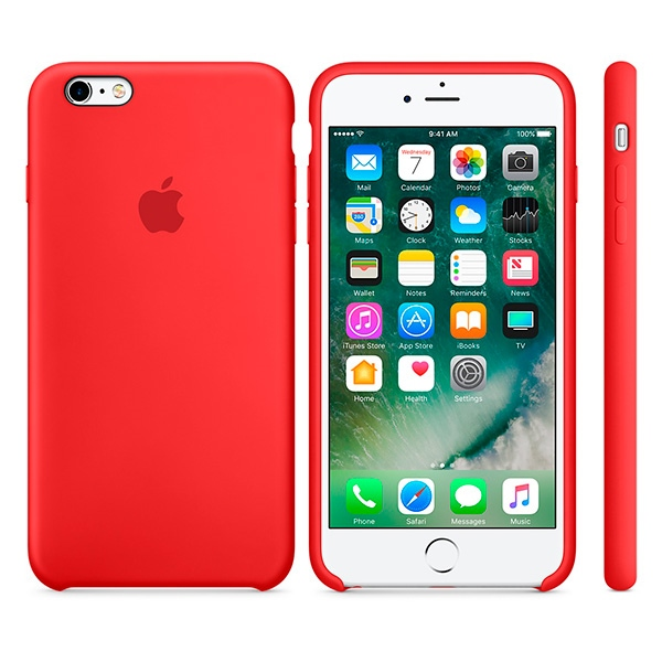 Apple iPhone 6s Silicon Case          rd | MKY32ZM/A