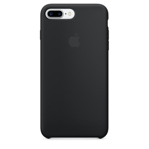 Apple Iphone 7 plus silicona negro – Funda