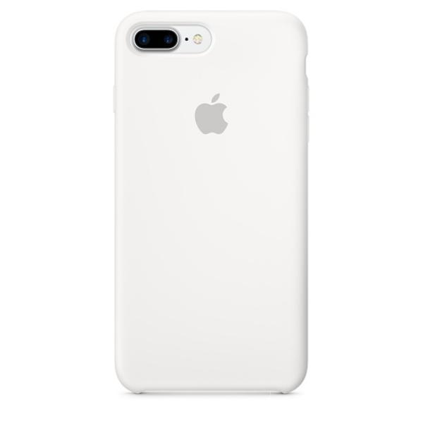 Apple Iphone 7 plus silicona blanco – Funda