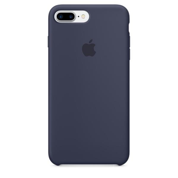 Apple Iphone 7 plus silicona azul noche – Funda