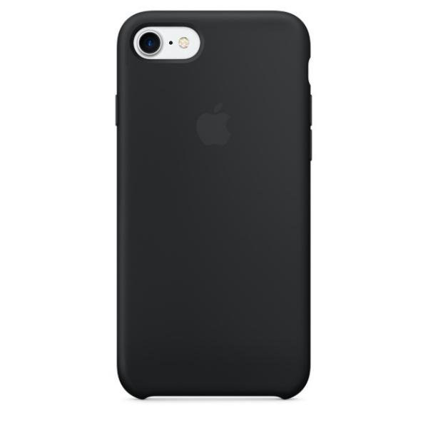 Apple Iphone 7 silicona negro – Funda
