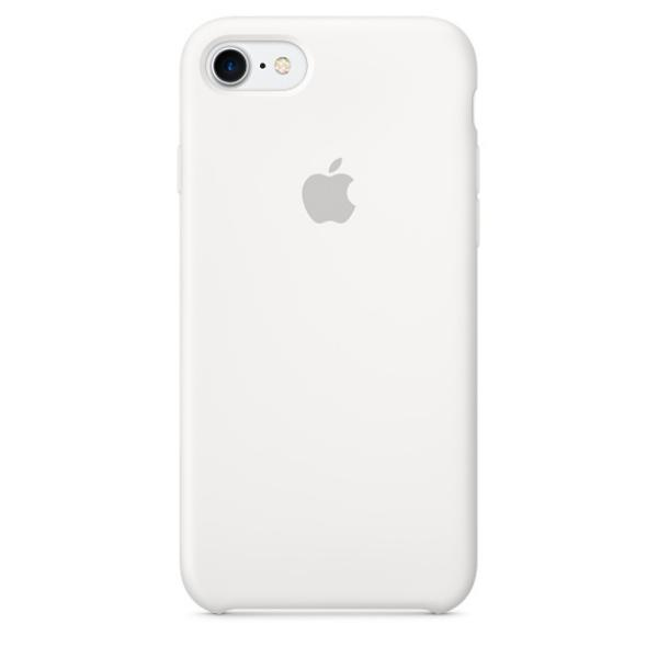 Apple Iphone 7 silicona blanco – Funda