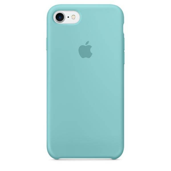 Apple Iphone 7 silicona azul mar – Funda