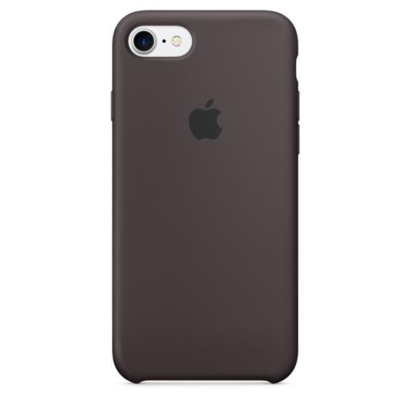 Apple Iphone 7 silicona cacao – Funda