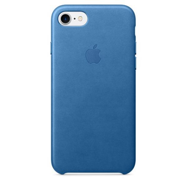 Apple Iphone 7 cuero azul mar – Funda