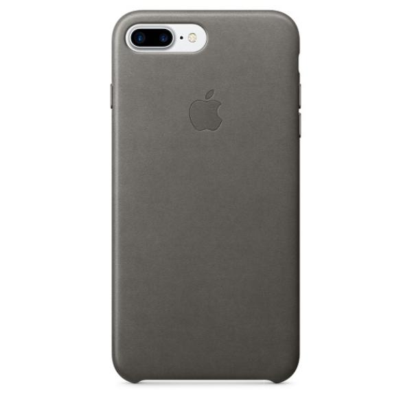 Apple Iphone 7 plus cuero gris tormenta – Funda