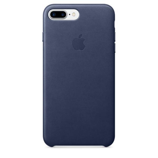 Apple Iphone 7 plus cuero azul noche – Funda
