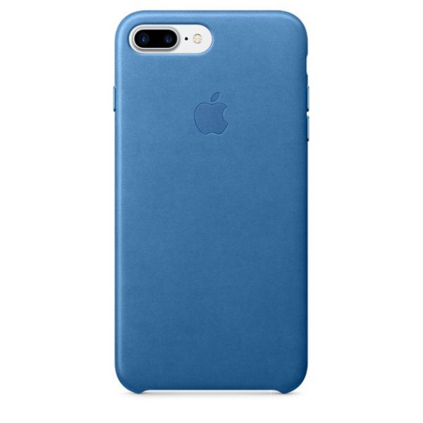 Apple Iphone 7 plus cuero azul mar – Funda