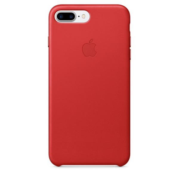 Apple Iphone 7 plus cuero rojo – Funda
