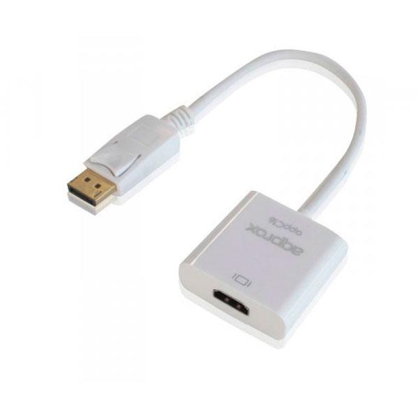 Approx APPC16 Adaptador Display Port a HDmi – Cable