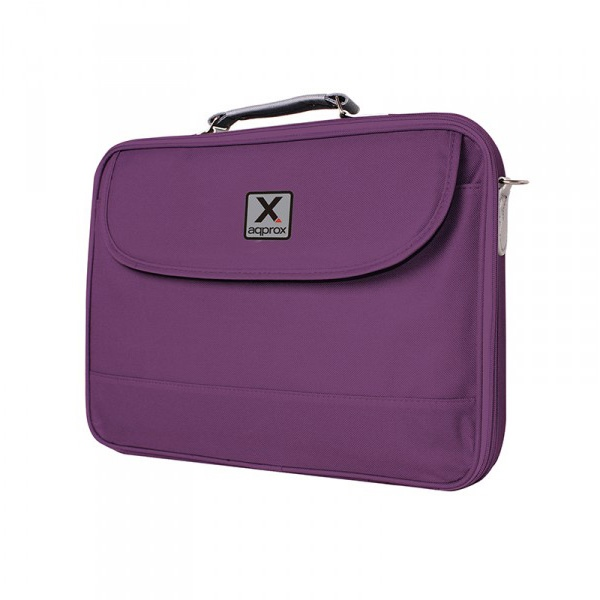 Approx 15.6″ Basic Notebook bag Purpura – Maletín