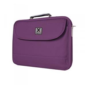 Approx 15.6″ Basic Notebook bag Purpura – Maletín