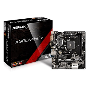 Asrock A320M-HDV - Placa Base