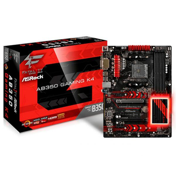 Asrock Fatal1ty AB350 Gaming K4 – Placa Base