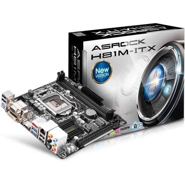 ASRock H81M-ITX – Placa Base