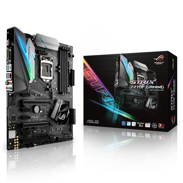 Asus Strix Z270F Gaming – Placa Base