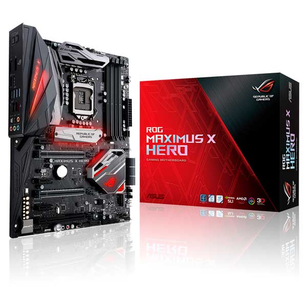 Asus ROG Maximus X Hero – Placa Base