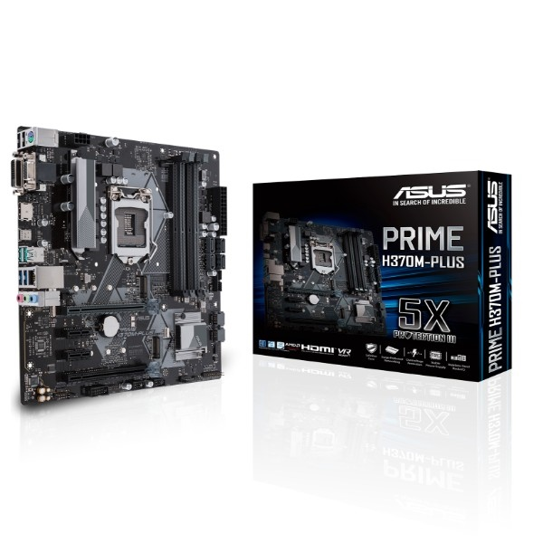 Asus Prime H370M-Plus – Placa Base