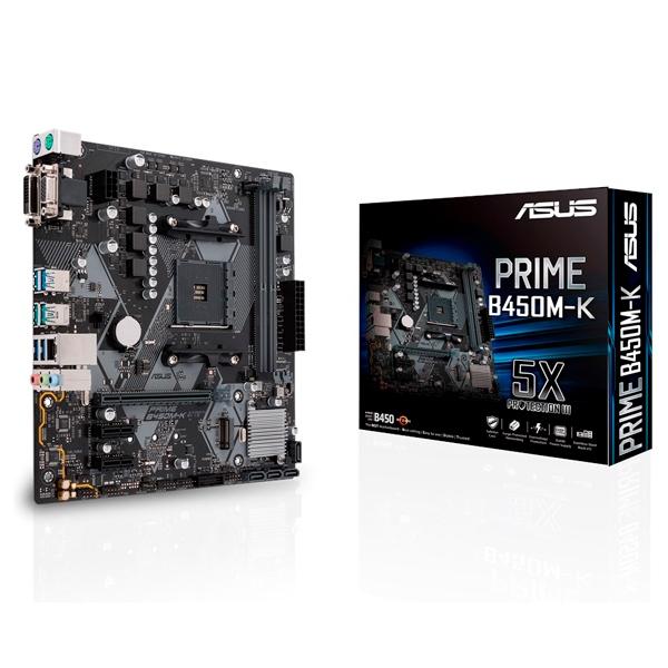 Asus Prime B450M-K - Placa Base