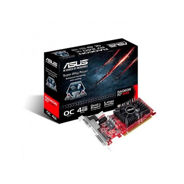 Asus Radeon R7 240 OC 4GB DDR5 - Gráfica