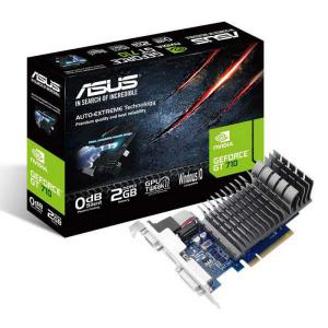 Asus Nvidia GeForce GT710 2GB DDR3 Silent – Gráfica