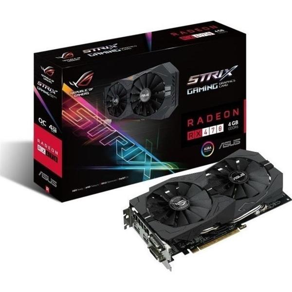 Asus Strix Radeon RX470 OC 4GB GDDR5 – Gráfica