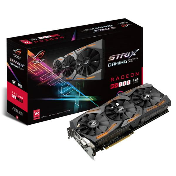 ASUS AMD Radeon RX 480 STRIX OC 8GB – Gráfica