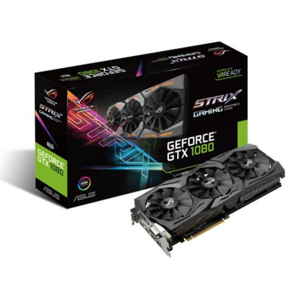 Asus Nvidia GeForce GTX1080 Strix 8GB GDDR5X – Gráfica
