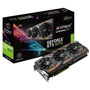 Asus Nvidia GeForce GTX1070 Strix 8GB – Gráfica