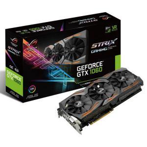 Asus Nvidia GeForce GTX1060 Strix OC 6GB – Gráfica