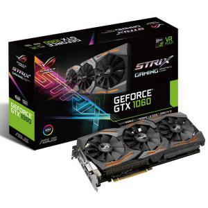 Asus Nvidia GeForce GTX1060 Strix 6GB – Gráfica