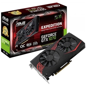 Asus Nvidia GeForce GTX1070 Expedition OC 8GB - Gráfica
