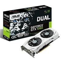 Asus Nvidia GeForce GTX1060 DUAL OC 6GB – Gráfica