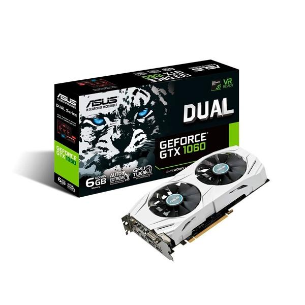 Asus Nvidia GeForce Dual GTX 1060 6GB - Gráfica