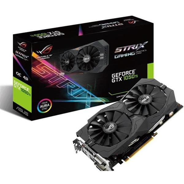 Asus Nvidia GeForce Strix GTX 1050 Ti OC 4GB – Gráfica