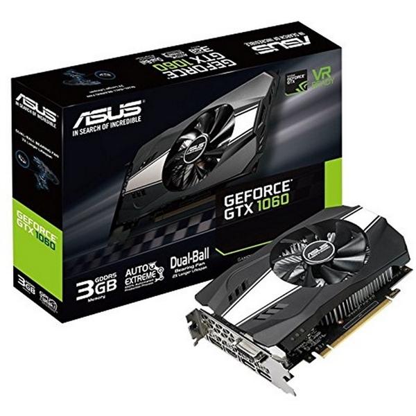 Asus Nvidia GeForce GTX 1060 Phoenix 3GB – Gráfica